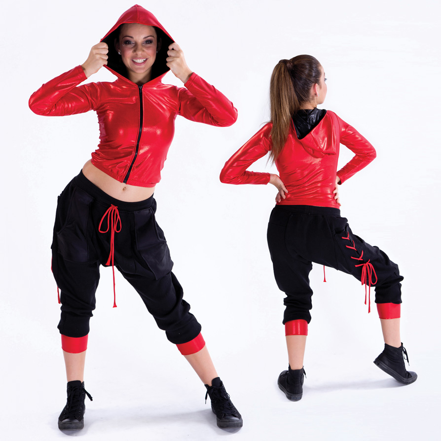 Bring it on costume glitz for Hip hop outfit damen